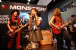The Sledge Grits Band on the Monster Products Stage. NAMM 2014. (c) Stan Thomas/Kanale Creations
