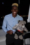 Gyasi Zardes and Dixie - (c) Stan Thomas/Kanale Creations