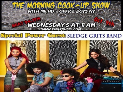 The Sledge Grits Band on The Morning Cook-Up Show