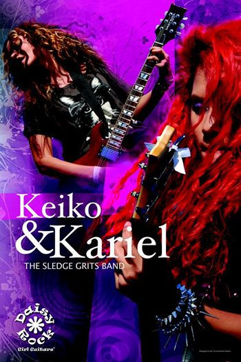 keiko and kariel poster for Daisy Rock