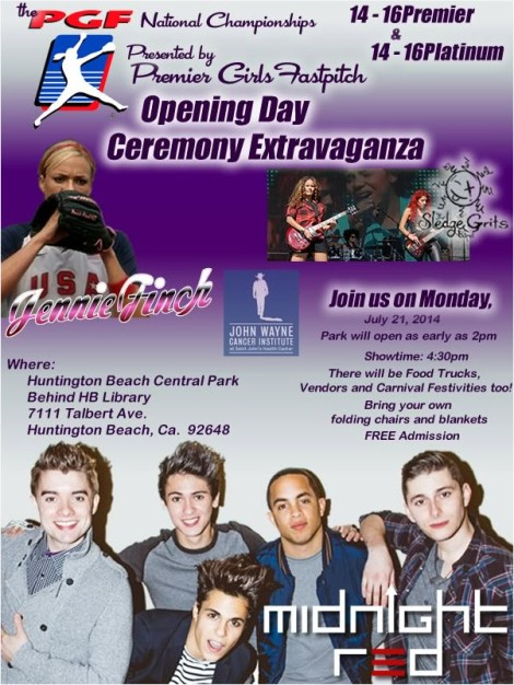 PGF Opening Ceremony Flyer