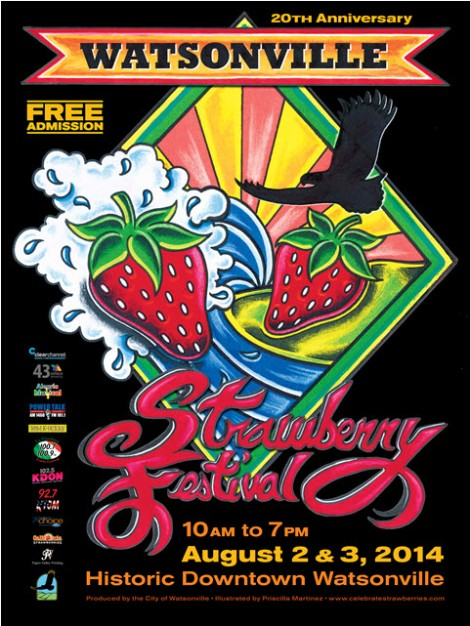 20th Annual Watsonville Strawberry Festival